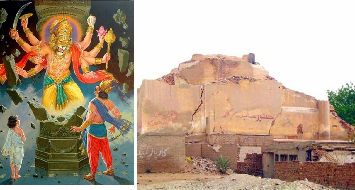पाकिस्तानमधील प्रसिद्ध हिंदू मंदिर.